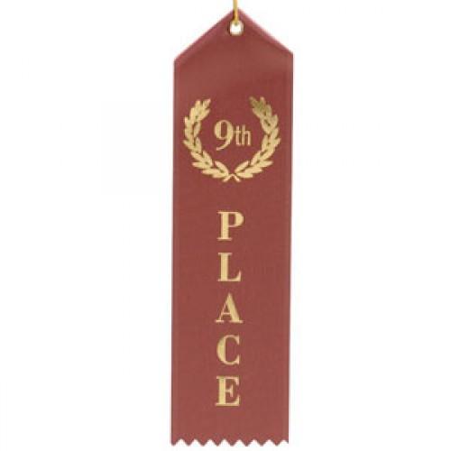 9th Place Ribbon