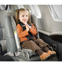 Strapping in your small fry  Business Jet Traveler