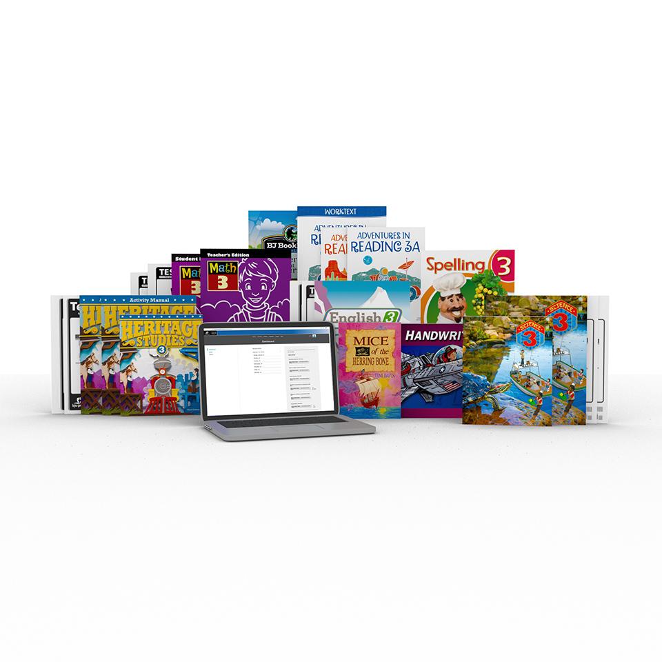 medium resolution of Grade 3 Online with Books   Homeschool