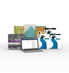 Grade 7 Online with Books   Homeschool [ 960 x 960 Pixel ]