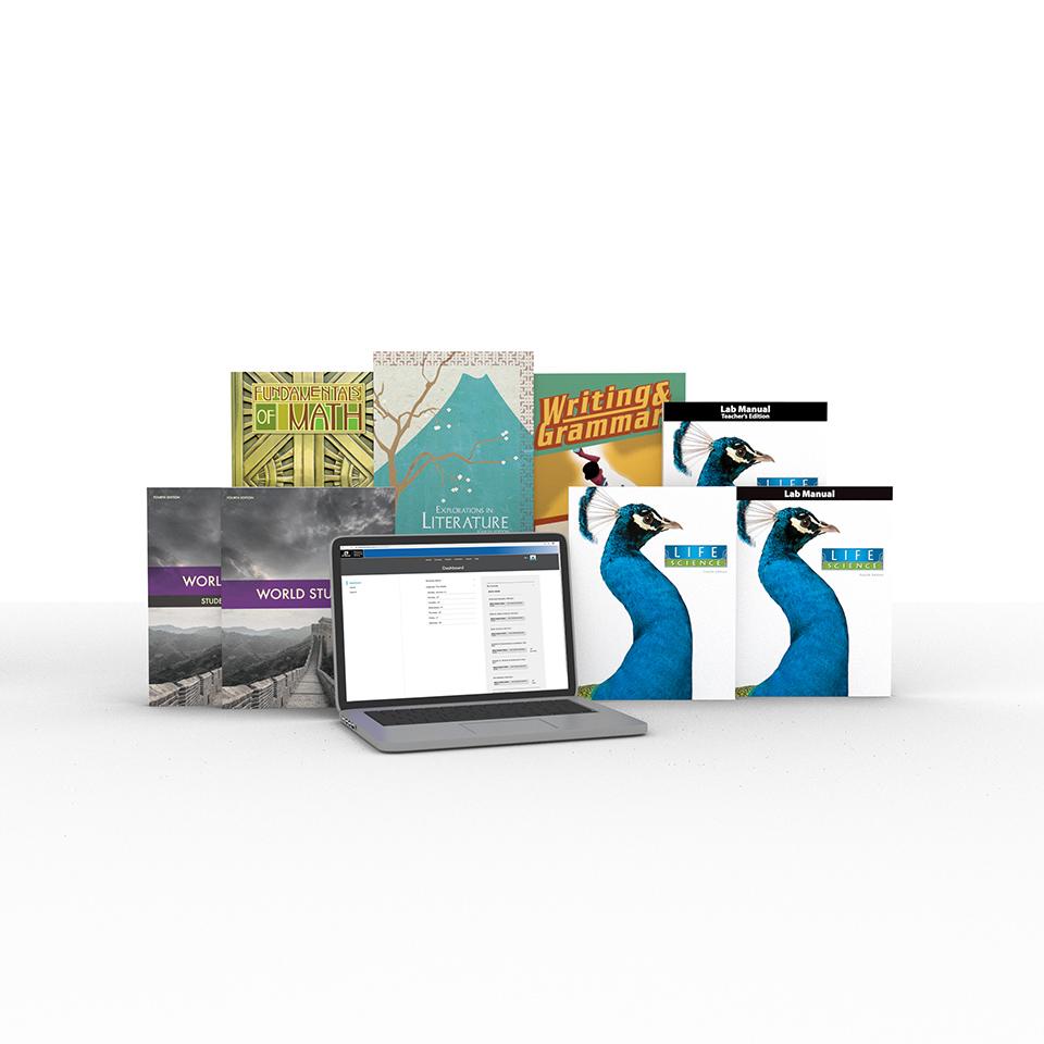 medium resolution of Grade 7 Online with Books   Homeschool