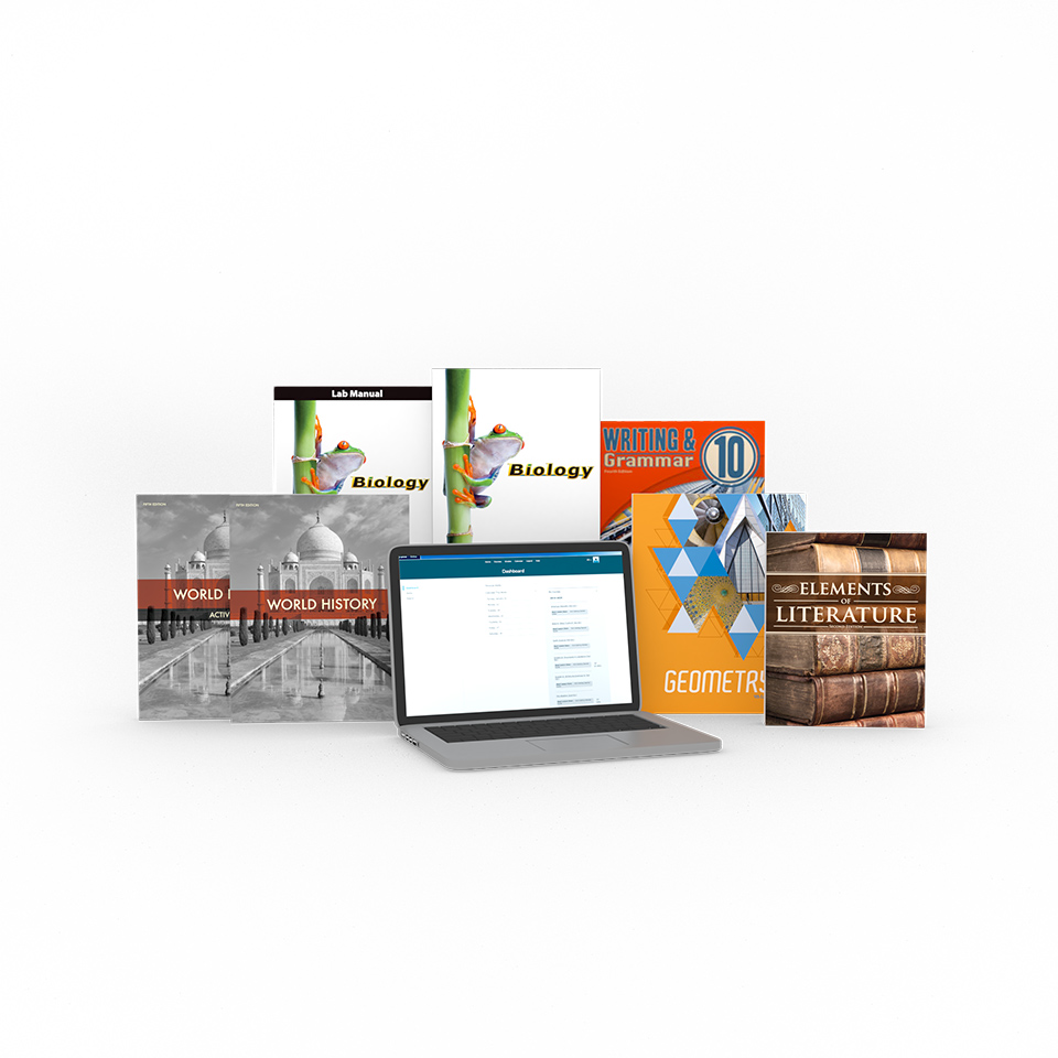 medium resolution of Grade 10 Online with Books   Homeschool