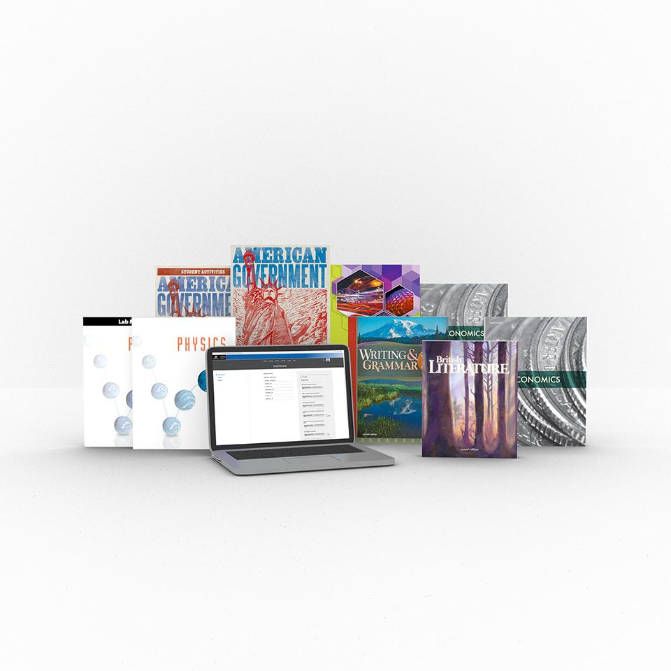 medium resolution of Grade 12 Online with Books   Homeschool