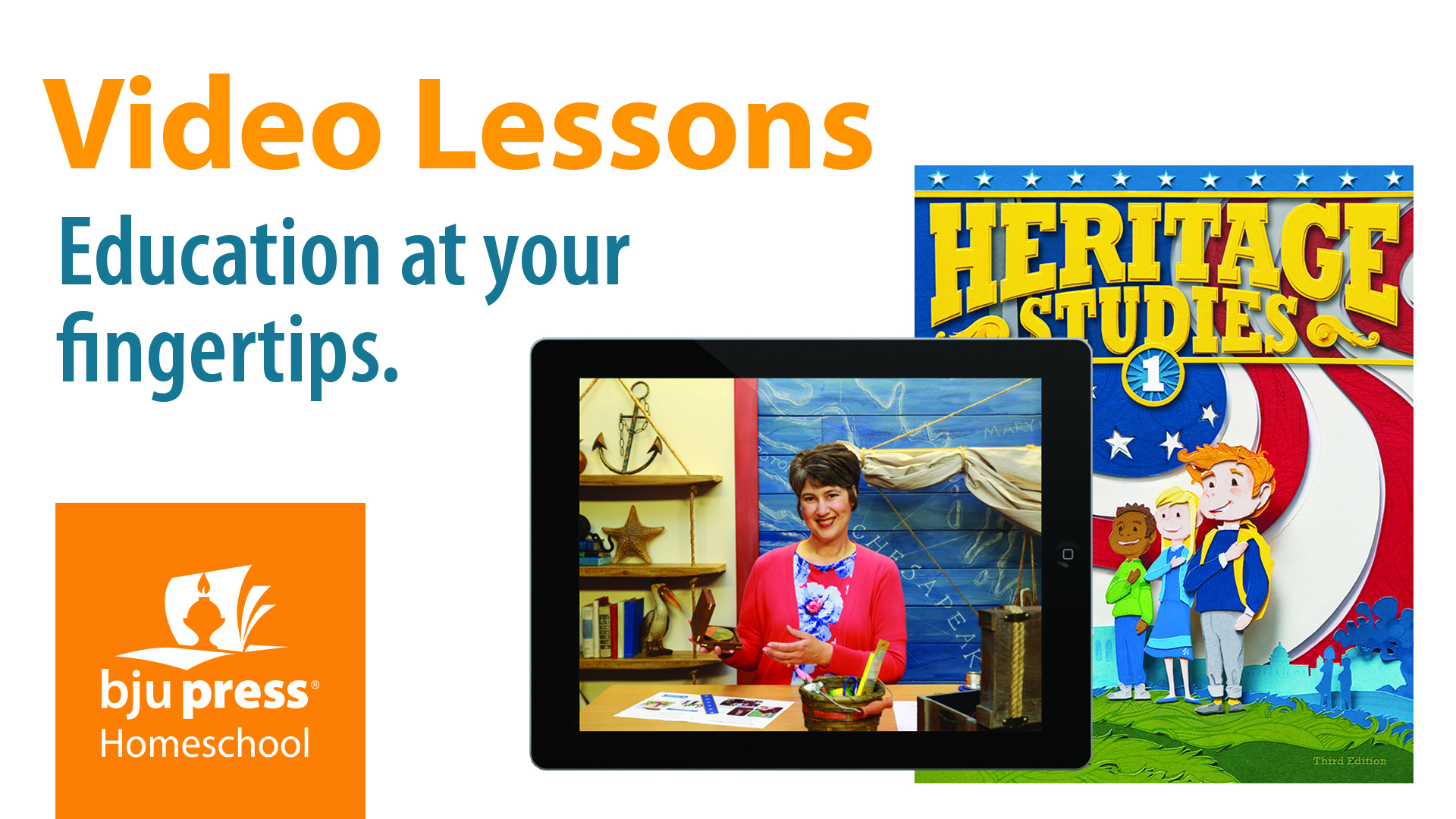 BJU Press Video Lessons. 100+ Online Courses The Ultimate Guide for Homeschool Success using online courses. #onlinecourses #homeschool #homeschoolcurriculum #ichoosejoyblog