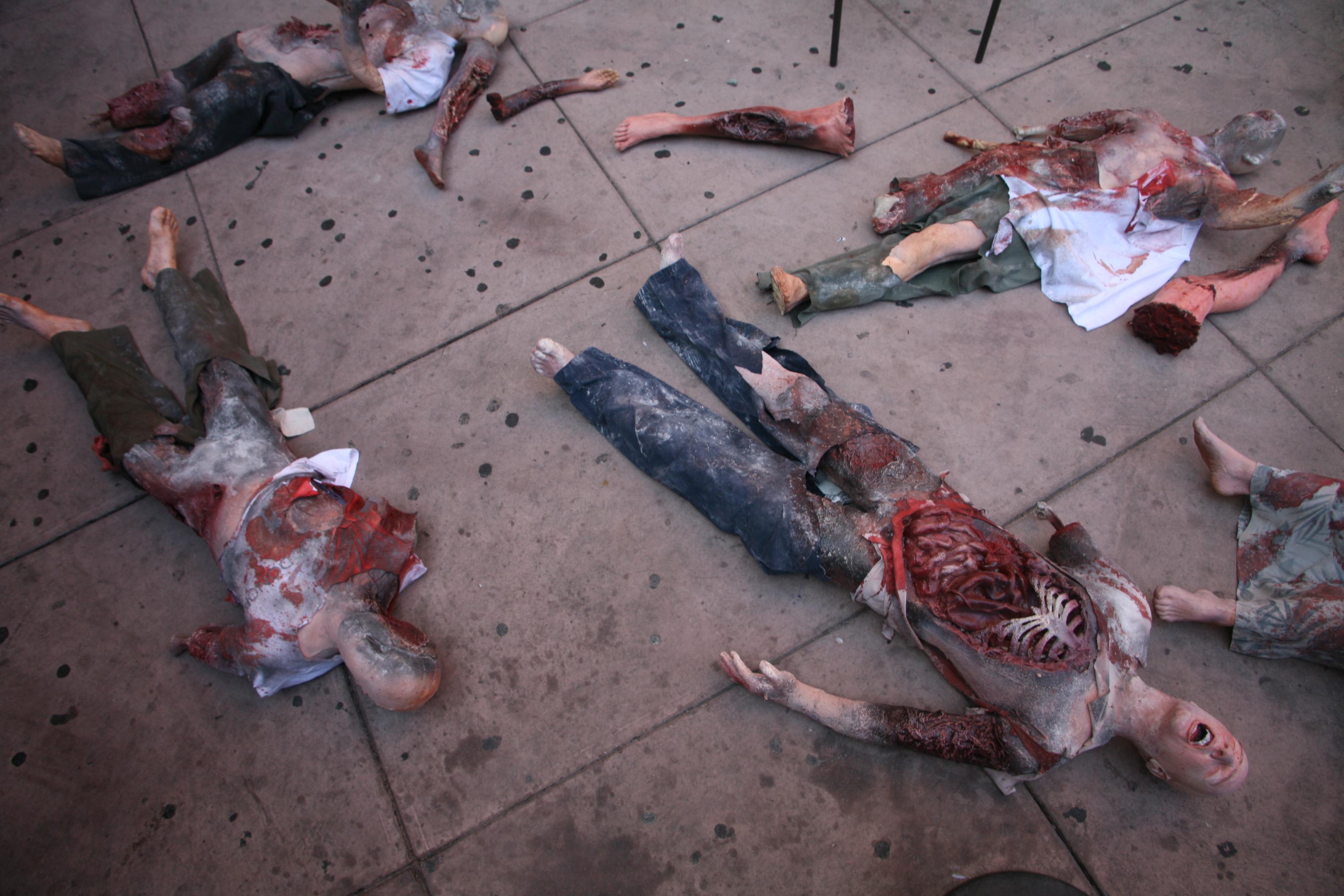 Props for Rent  Portfolio  Bomb and Burn Victims  bomb_victims_42