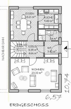 Doppelhaus Typ A