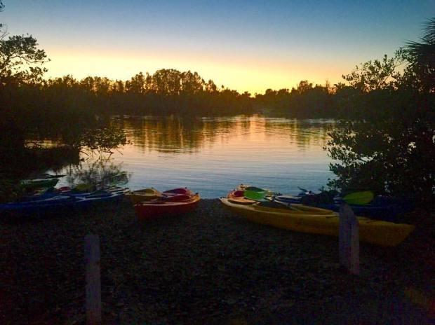 orlando kayaking sunset tour with bioluminescence