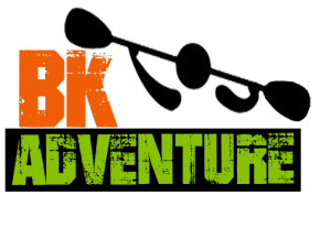 kayaking orlando BK adventure logo