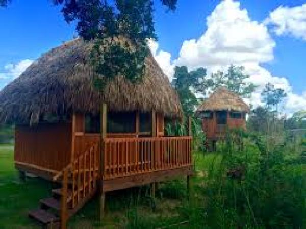 Chickee Huts at Everglades Adventure Tours