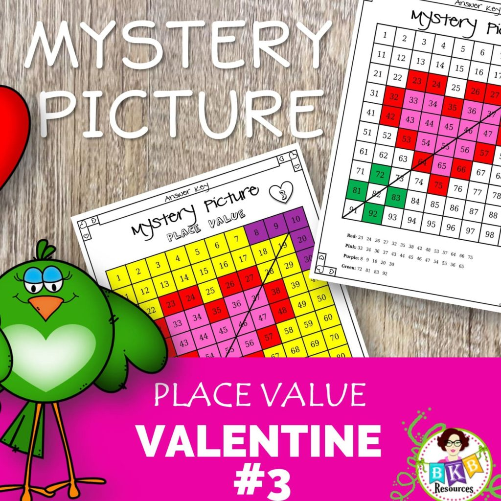 Mystery Picture Printables Fun Math Activities