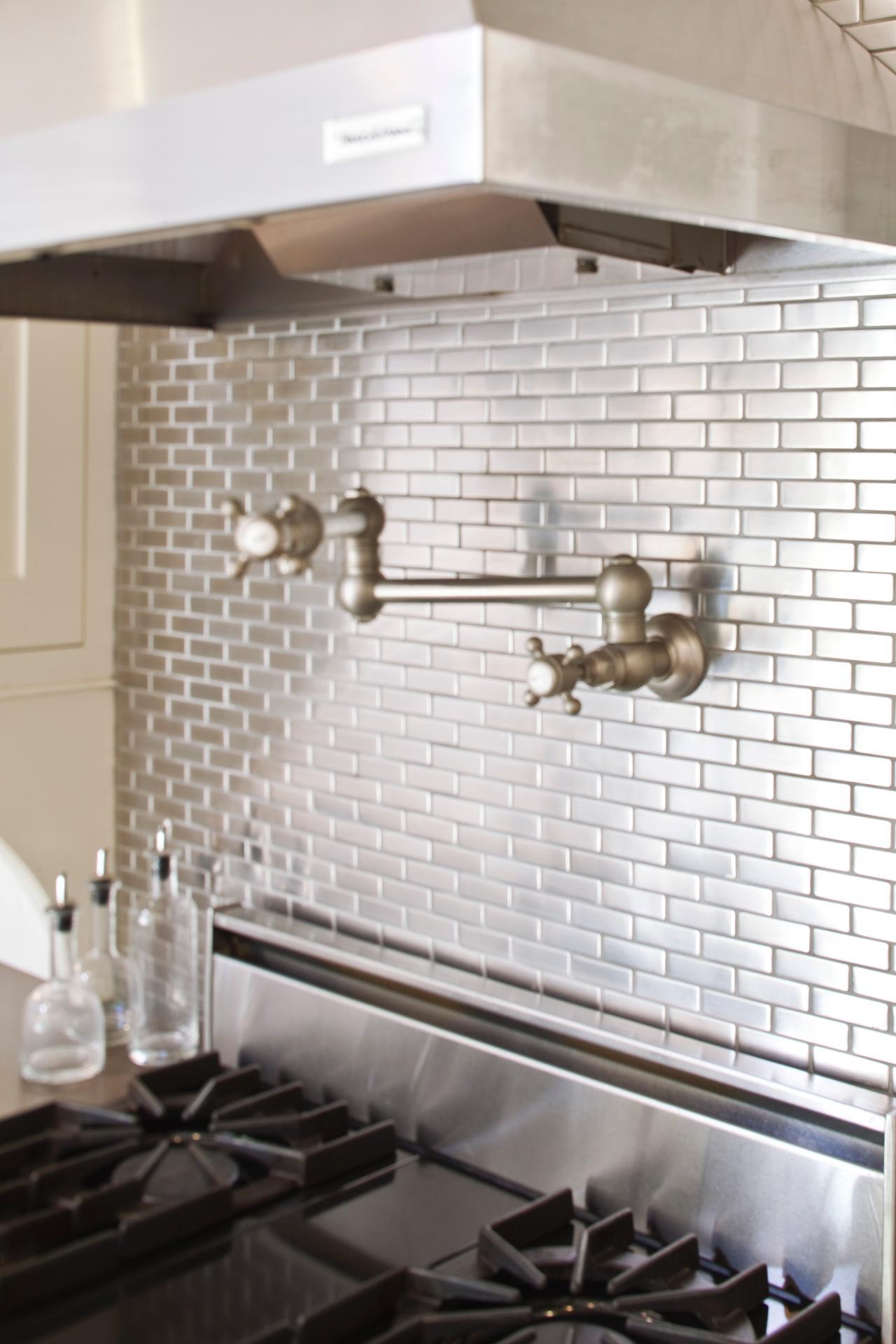 metallic kitchen wall tiles outdoor bbq make a splash with these backsplash designs bkc