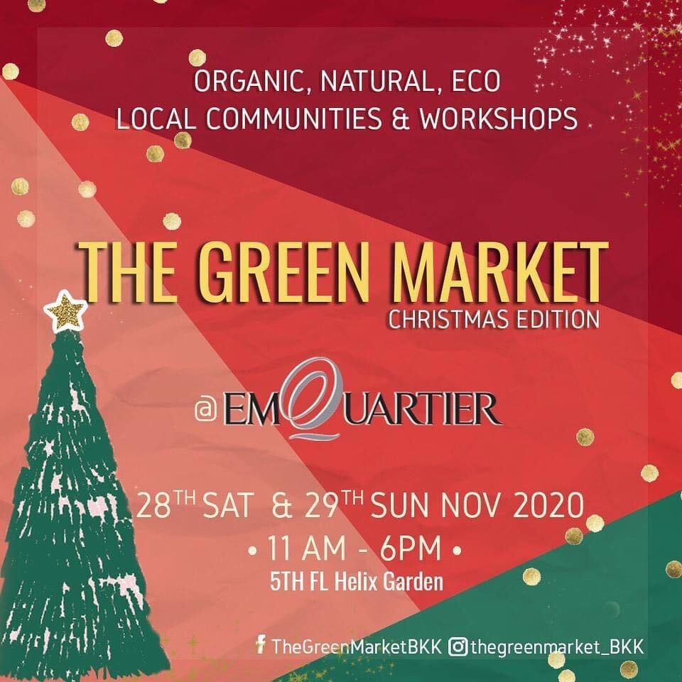 Emquartier The Green Market is back with a Special Christmas Edition!