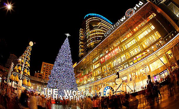 Bangkok Christmas lights