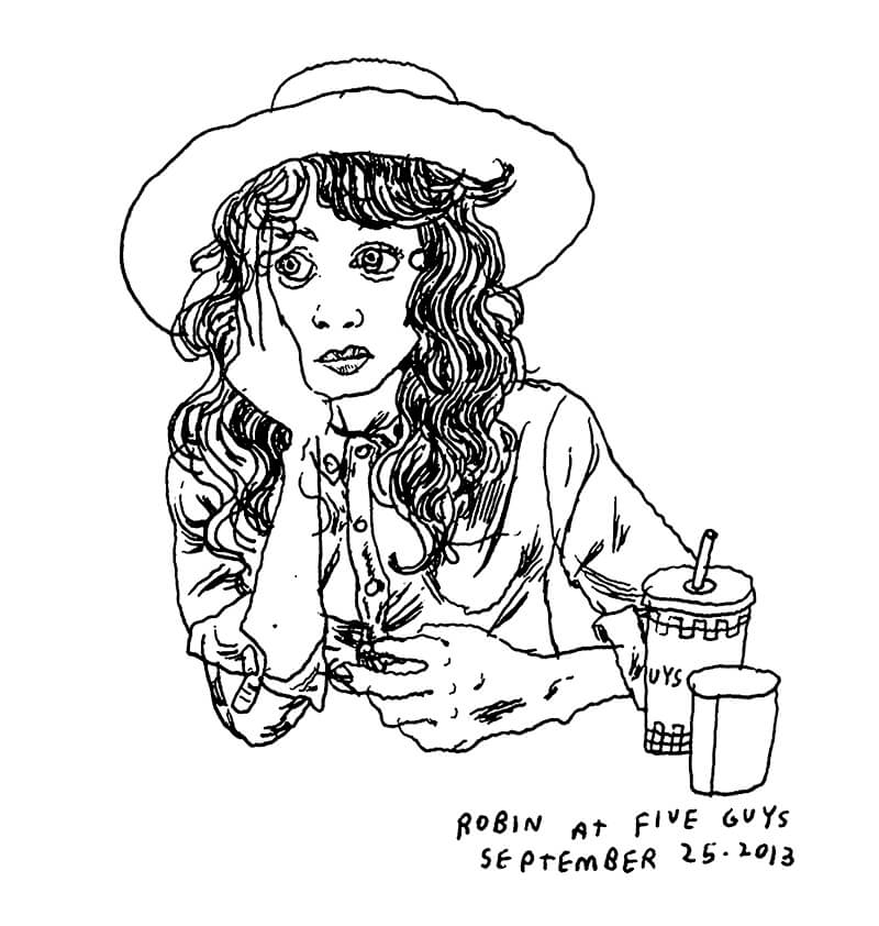 Drawing Every Person in New York: Talking with Illustrator