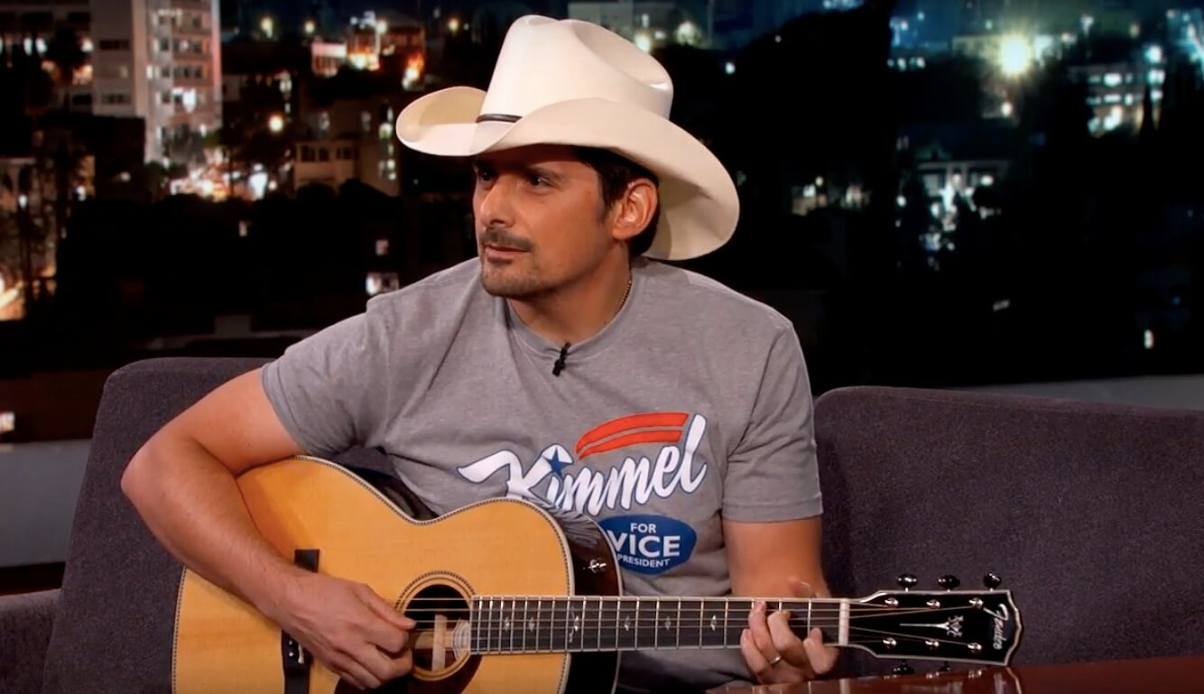 Brad Paisley Tweaks Stand By Your Man To Support