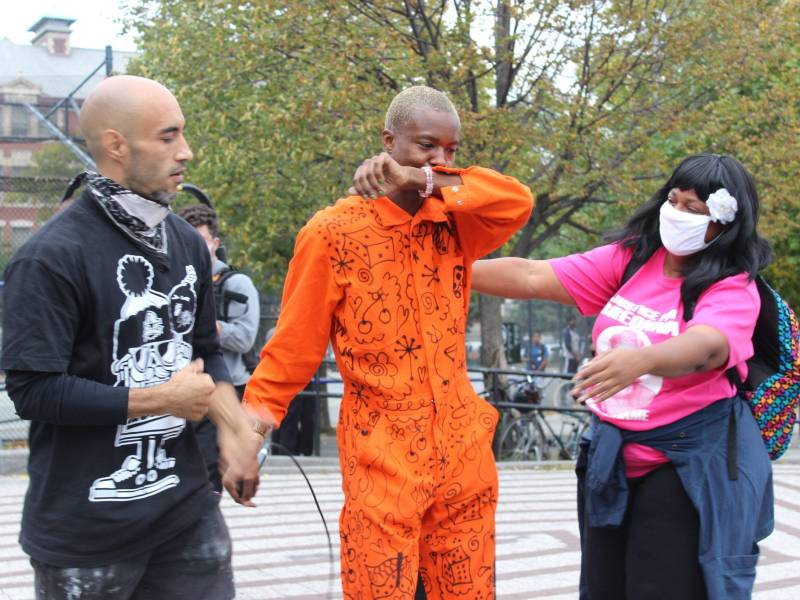 NYPD, protest, Breonna Taylor, Paperboy Prince, Maria Hernandez Park, march