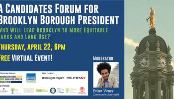 Parks groups to host borough president forum focused on Brooklyn's open spaces