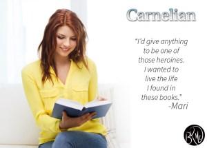 Mari - Carnelian by B. Kristin McMichael