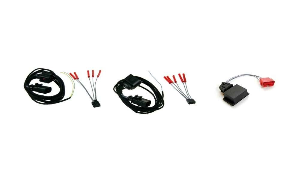 Wiring + coding dongle LED taillights Audi A4 Avant facelift