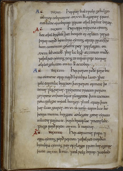 Anglo-Saxon Chronicle (11th c.)