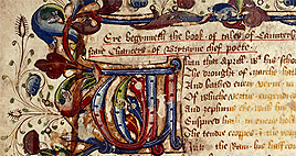 British Library Chaucer Manuscript
