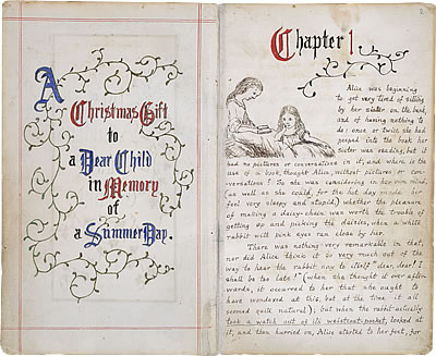 Image of Lewis Carroll's Alice's Adventures Under Ground - Page 1