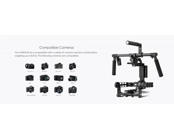 BeStableCam HORIZON H6 Camera Stabilizer with encoders