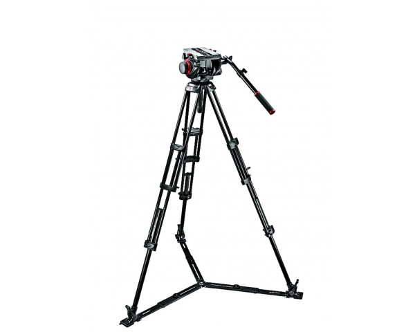 Manfrotto Kit 509HDV, treppiedi 545GB, stella 165MV, sacca
