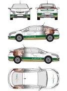Opel autobelettering