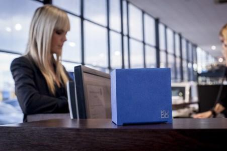 Kubb - modèle Bleu 12 dans des bureaux - plan 2