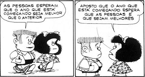 Mafalda: sempre certeira!