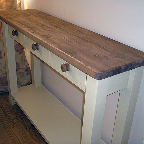 kitchen console table clogs furniture by black barn crafts kings lynn norfolk bbc38