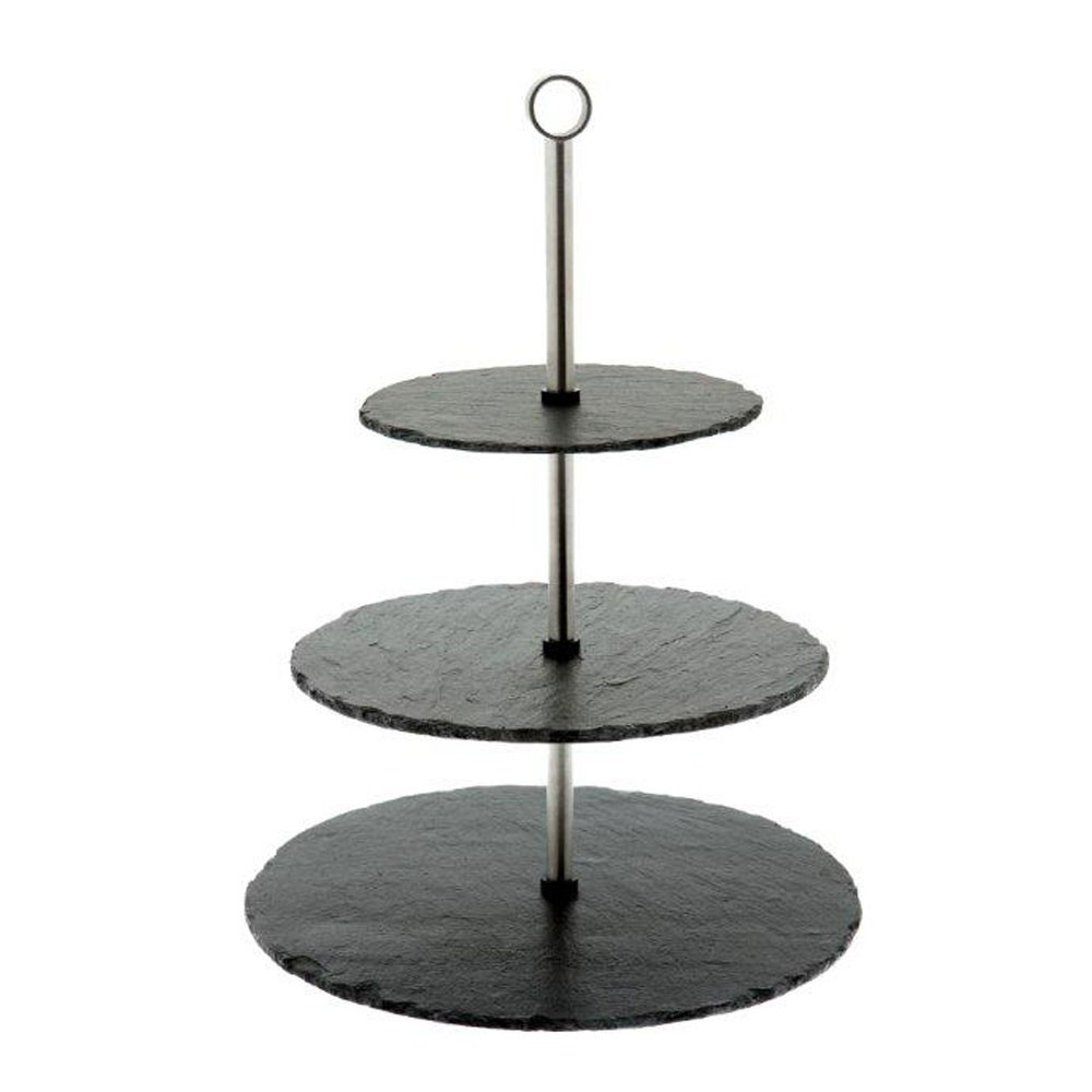 Just Slate Three Tiered Cake Stand