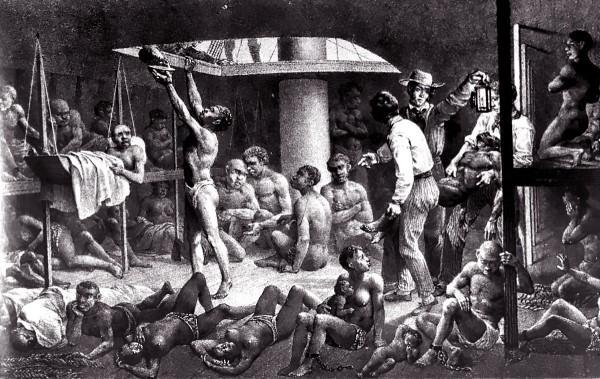 Enslaved Africans we Slave Ship