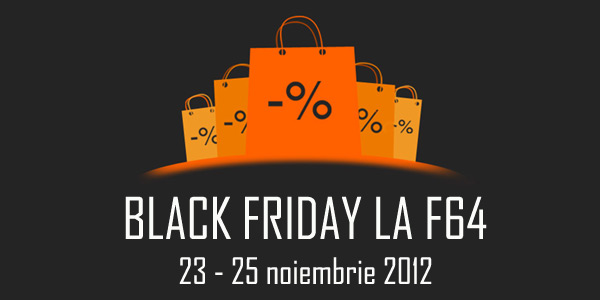 Black Friday 2012 la F64