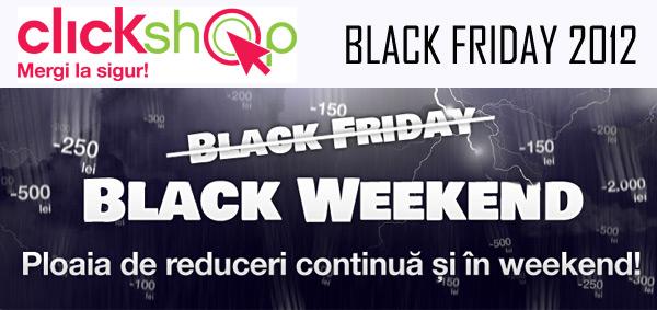Black Friday 2012 ClickShop