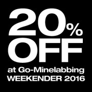 save, 20, percent, go-minelabbing, weekender, 2016, minelab, metal detecting