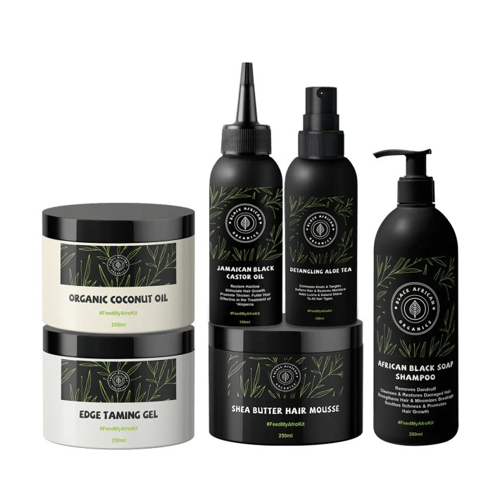 Deluxe Organic Hair Growth and Care Kit