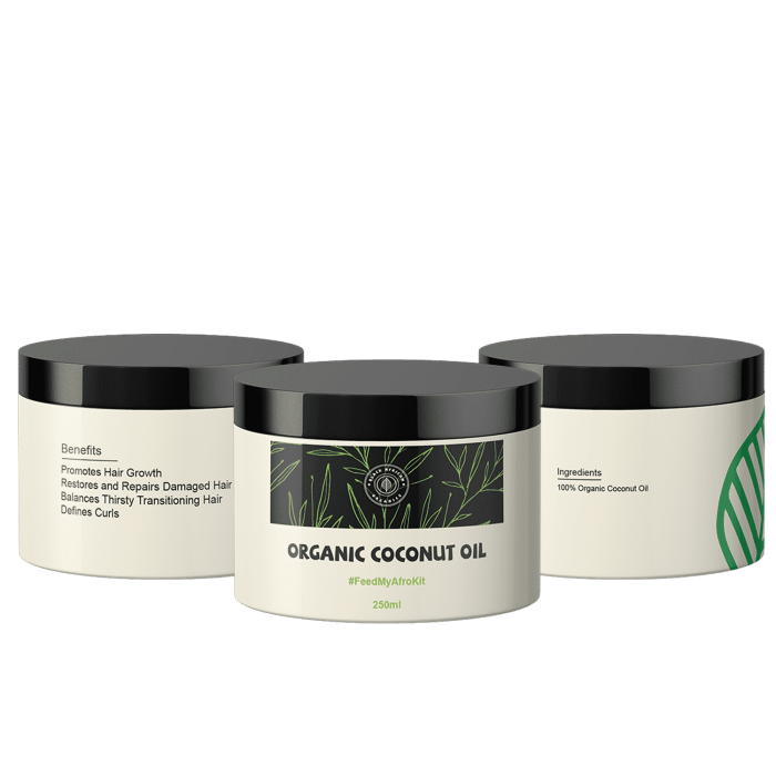 Organic Hair Care Coconut Oil