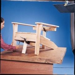 Diy Adirondack Chair Kit Rolling Chairs On Laminate Flooring Build An With Plans Black 43decker