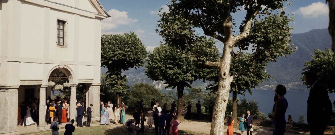 Wedding in Sacred Mount of Ghiffa
