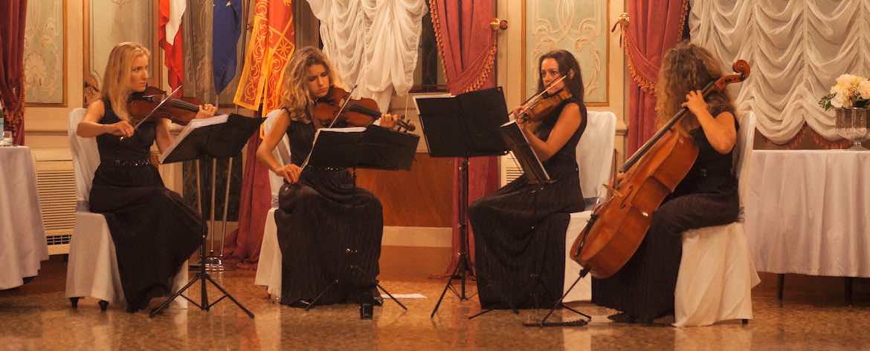 Quartetto archi matrimonio Hotel Luna Baglioni