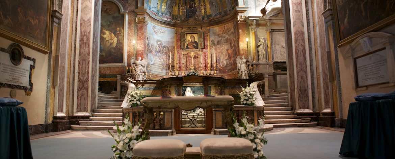 Basilica di Santa Francesca Romana Altare