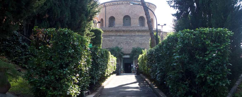 Mausoleo di Santa Costanza Vista esterna
