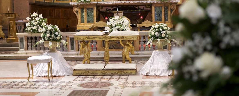 san Giovanni e Paolo al Celio banchetto sposi