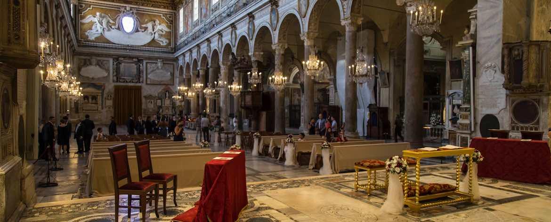 Basilica di Santa Maria in Aracoeli vista interna