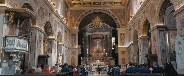 Matrimonio in San Lorenzo in Lucina