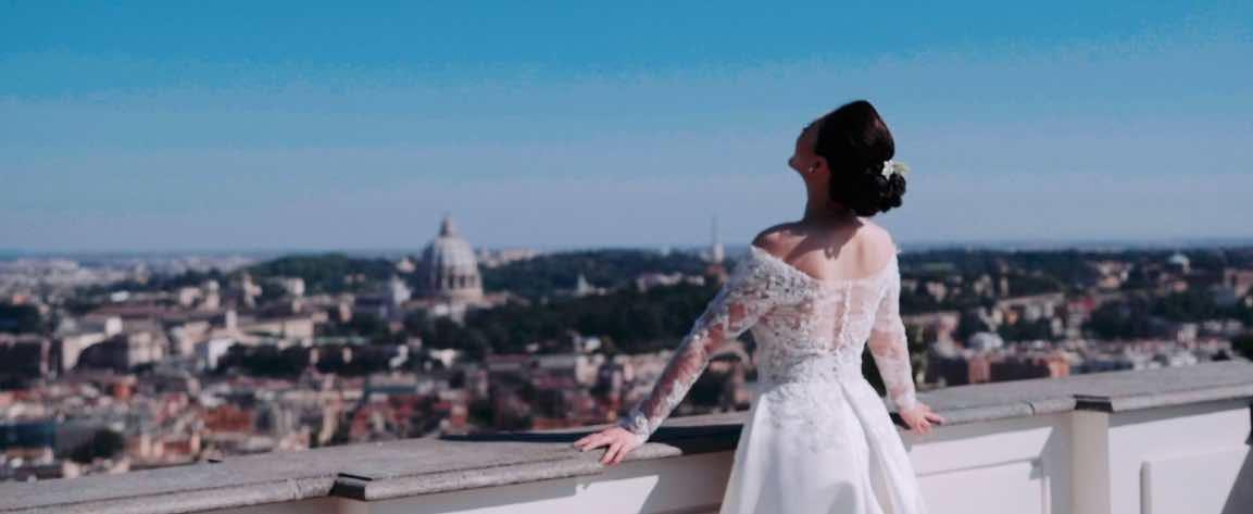 Matrimonio a Villa Miani Rito Civile Chiesa sconsacrata di Caracalla