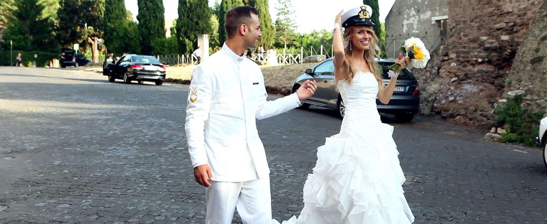 Matrimonio a villa Livia Chiesa del Santissimo Nome di Maria