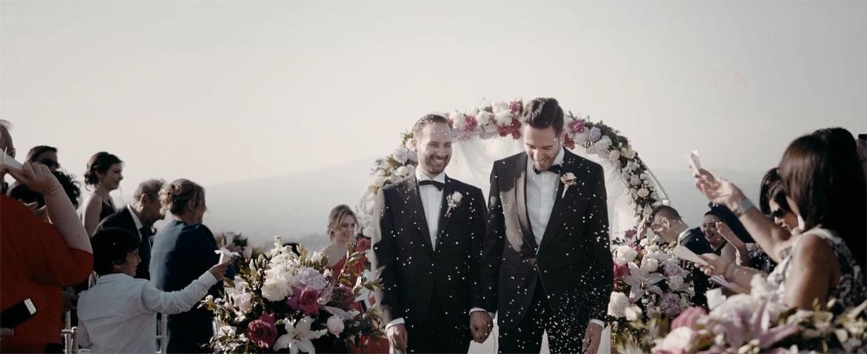 Civil Wedding a Casina di Poggio della Rota Giorgio and Patrizio